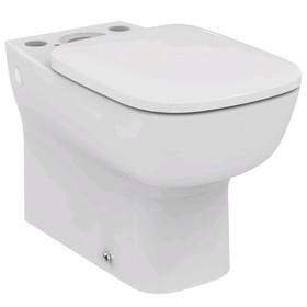 Унитаз напольный Ideal Standard ESEDRA T282001, пристенный, глубокий смыв, без сиденья и бачка   509