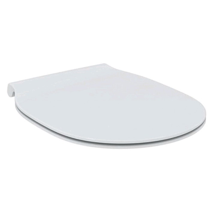 Сидение и крышка Ideal Standard CONNECT AIR E036601, тонкое, дюропласт, микролифт, съемное