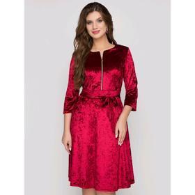 Платье «Николь бордо», размер 50