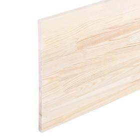 Щит мебельный  СОСНА, сорт АА, бессучковый, 180×40×1,8 см Ош