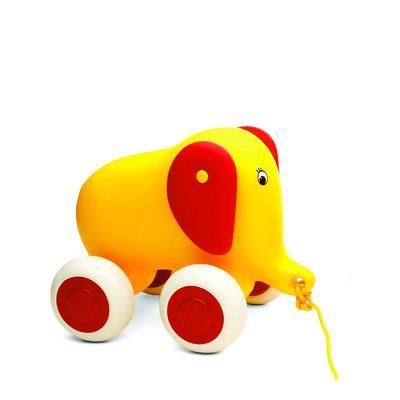 Игрушка-каталка «Слоненок», жёлтый