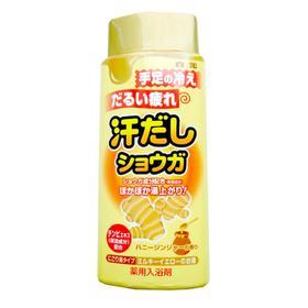 Соль для ванны Hakugen Earth Bath King, с восстанавливающим эффектом, на основе имбиря, 450 г