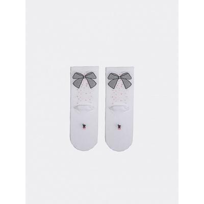 Носки детские, цвет белый, размер 12