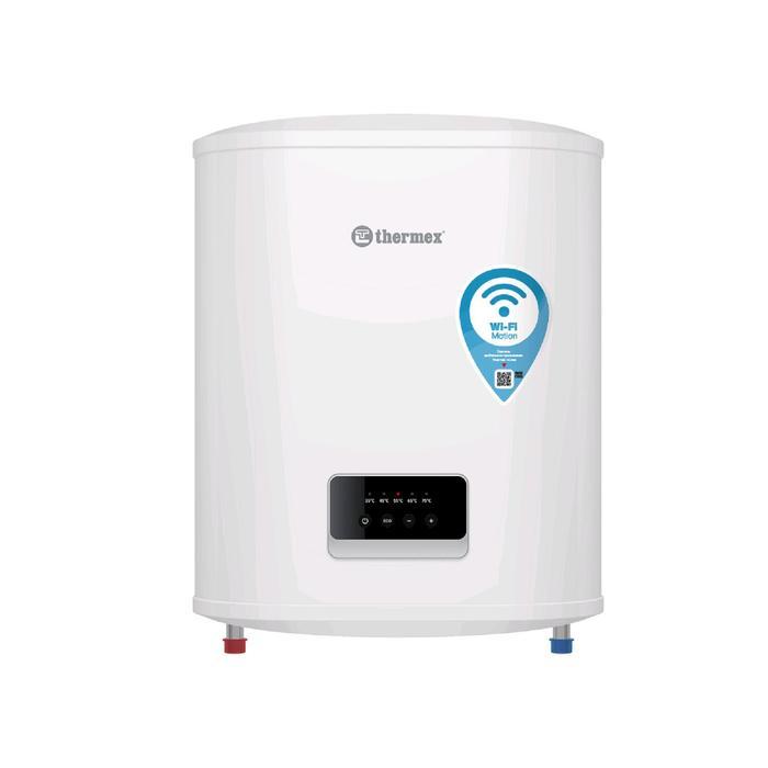 Водонагреватель Thermex Optima 30 Wi-Fi, накопительный, 2 кВт, 30 л, упр.-е голосом, белый