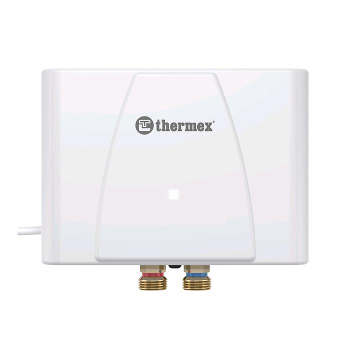 Водонагреватель Thermex Balance 6000, проточный, 6 кВт, 3.4 л/мин, нижняя подводка