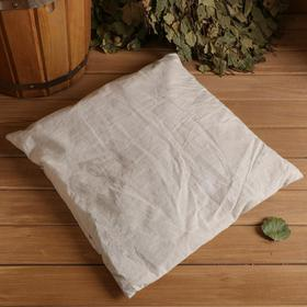 Подушка для бани с луговым сеном 38х40 см Ош