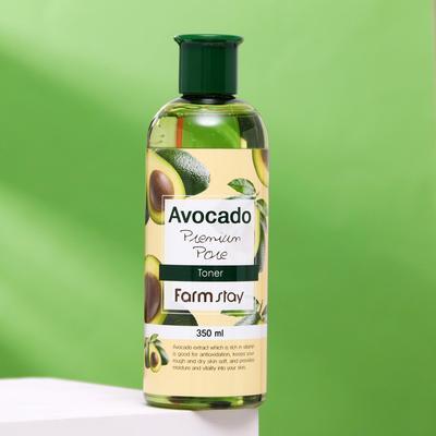 Тонер для лица FarmStay, антивозрастной, с экстрактом авокадо, 350 мл - Фото 1