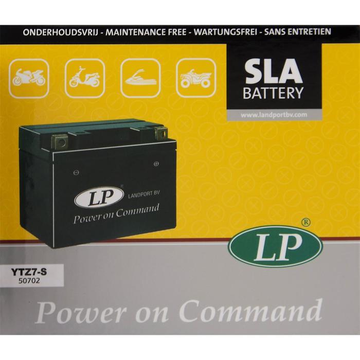 Аккумулятор Landport YTZ7S, обратная (- +)