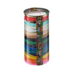 Пластик ABS, для 3D ручки, 15 цветов по 10 метров