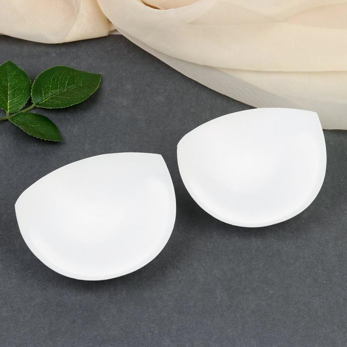 Чашки корсетные, размер one size, пара, цвет белый