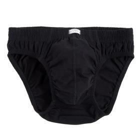 Трусы мужские слипы, цвет чёрный, размер 54 (XL)