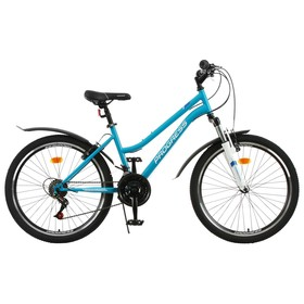 Велосипед 24' Progress модель Ingrid Pro RUS, цвет голубой, размер 15' Ош