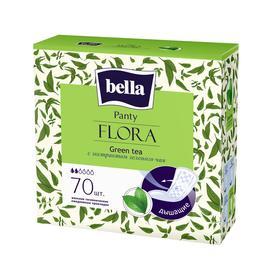 Прокладки женские гигиенические ежедневные bella Panty FLORA Green tea с экстрактом зеленого