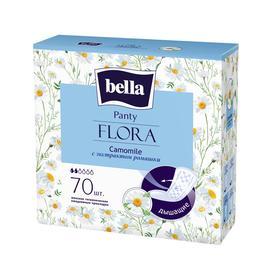 Прокладки женские гигиенические ежедневные bella Panty FLORA Camomile с экстрактом ромашки п