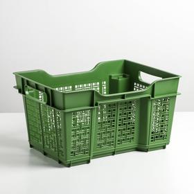 Ящик универсальный 16 л, 40×30×22 см, цвет лавровый Ош