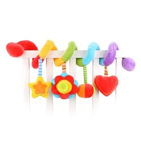 Растяжка с развивающими игрушками «Радуга»