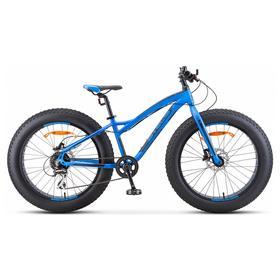 """Велосипед 24"""" Stels Aggressor D, V010, цвет синий, размер 13,5"""""""