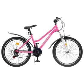 Велосипед 24' Progress модель Ingrid Pro RUS, цвет розовый, размер 15' Ош