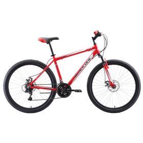 Велосипед 26' Black One Onix D, Al, цвет красный/серый/белый, размер 18' Ош