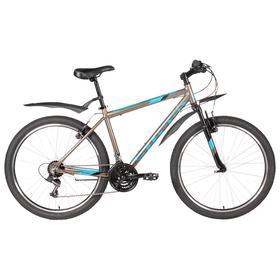 Велосипед 26' Stark Outpost 2 V, 2020, цвет коричневый/синий/черный, размер 20' Ош