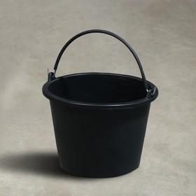 Ведро строительное, 8 л, резинопластик
