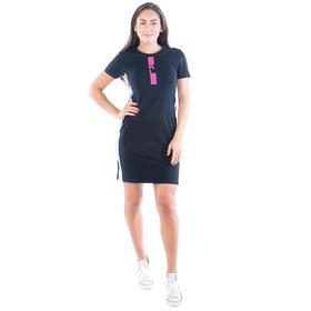 Платье-футболка KL, размер 52, цвет чёрный