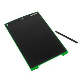 Планшет для рисования Rexant 70-5003, 12'', защита от стирания, чёрно-зеленый Ош