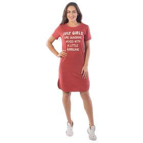 Туника July Girls, размер 44, цвет красный