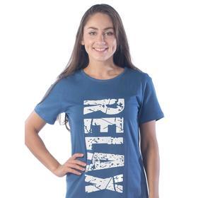 Туника Relax, размер 44, цвет синий Ош