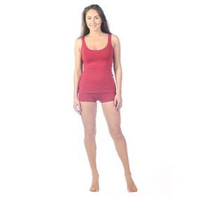 Шорты женские, размер 44, цвет бордовый Ош