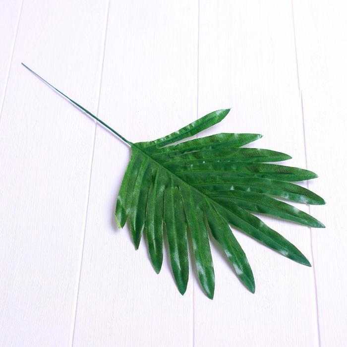 Лист искусcтвенный «Пальма», 40 × 17 см
