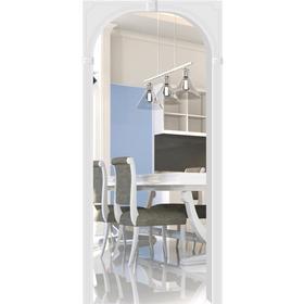 Арка «Флоренция», 610 - 1240 × 200 × 2150 мм, МДФ, покрытие ПВХ, цвет белый Ош