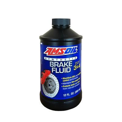 Тормозная жидкость AMSOIL DOT 3 and DOT 4 Synthetic Brake Fluid, 0,355л - Фото 1