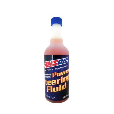 Гидравлическая жидкость AMSOIL Multi-Vehicle Synthetic Power Steering Fluid, 0,473л - Фото 1