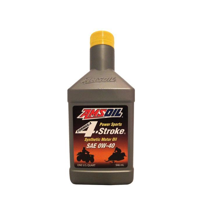 Моторное масло для 4Т AMSOIL Formula 4-Stroke® PowerSports Synthetic Motor Oil SAE 0W-40