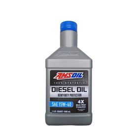 Моторное масло AMSOIL Heavy-Duty Synthetic Diesel Oil SAE 15W-40, 0.946л