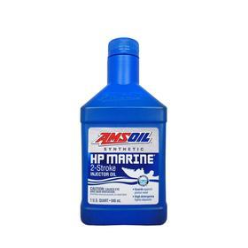 Моторное масло для 2-Такт лод.мот. AMSOIL HP Marine Synthetic 2-Stroke Oil, 0,946л Ош