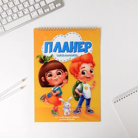 Планер школьника вертикальный А4 'Планер школьника' Ош