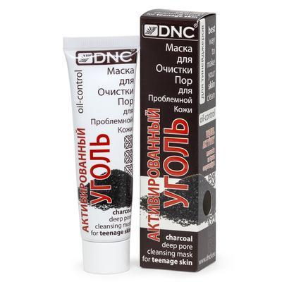 Маска для очистки пор DNC Активированный Уголь для проблемной кожи, для подростков, 50 мл