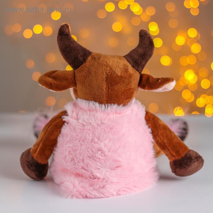 Мягкая игрушка «Коровка в розовой шубке»