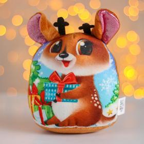 Мягкая игрушка «Новый год», олень