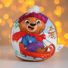 Мягкая игрушка «Новый год», медвежонок