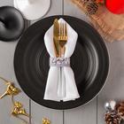 "Кольцо для салфетки ""Merry christmas"" 20,5х2,5 см, 100% п/э, фетр"