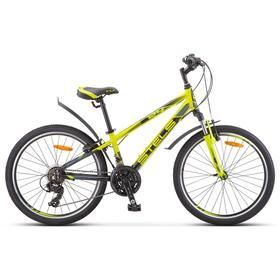 Велосипед 24' Stels Navigator-440 V, K010, цвет лайм, размер 12' Ош