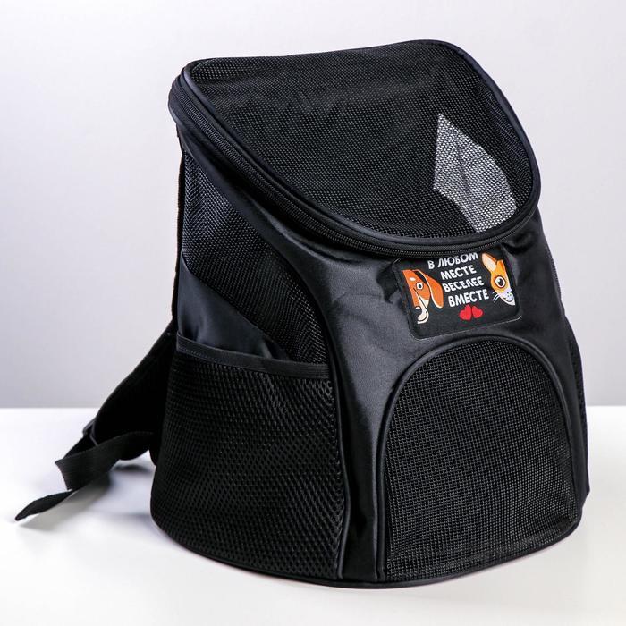 Рюкзак для переноски животных В любом месте - веселее вместе 312330 см