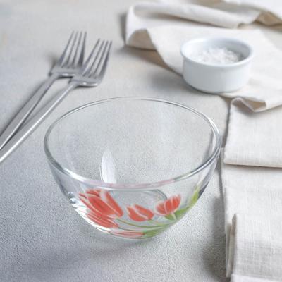 Салатник «Весенние тюльпаны», 250 мл - Фото 1