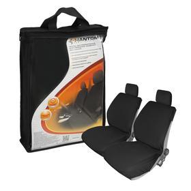 Чехлы на передние сиденья, 2 шт, черные, PH5128 Ош