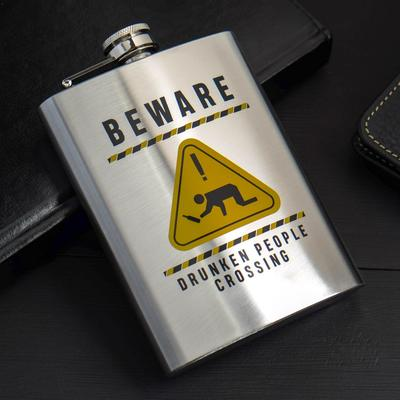 "Фляжка ""Beware"", 240 мл - Фото 1"