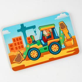 Пазл - конструктор «Трактор» (бизиборды)