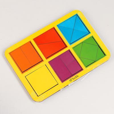 Квадраты Никитина 1 уровня, 6 квадратов (бизиборды) - Фото 1